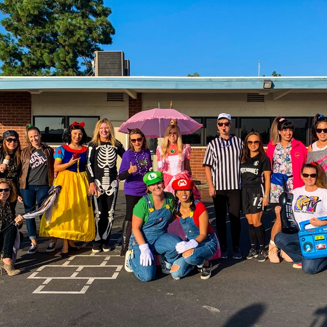 Anthony staff enjoyed our annual costume parade.